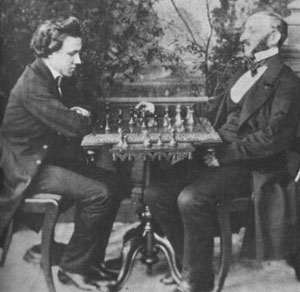 Morphy vs Lowenthal, 1858